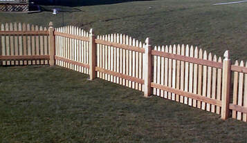 Salt Lake City Fence Company Wood Fence
